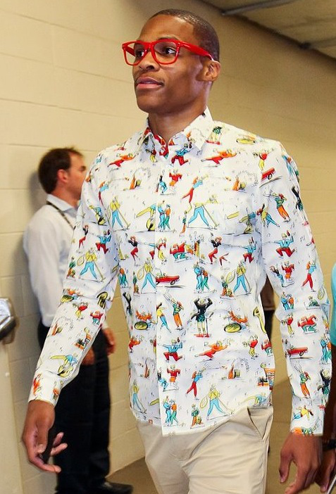 westbrook full1 Russell  Westbrook Fashion Style
