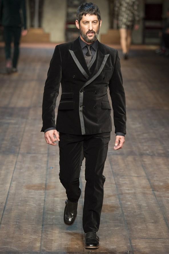 Dolce & Gabbana Fall 2014 Menswear