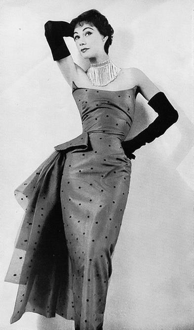Elsa Schiaparelli gown, 1953.