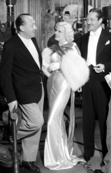 "Jean Harlow in ""Dinner at Eight"" 1933. Costumes by Adrian."