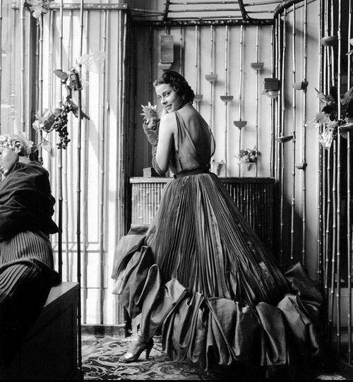 Schiaparelli Paris Photo by Willy Maywald, 1950