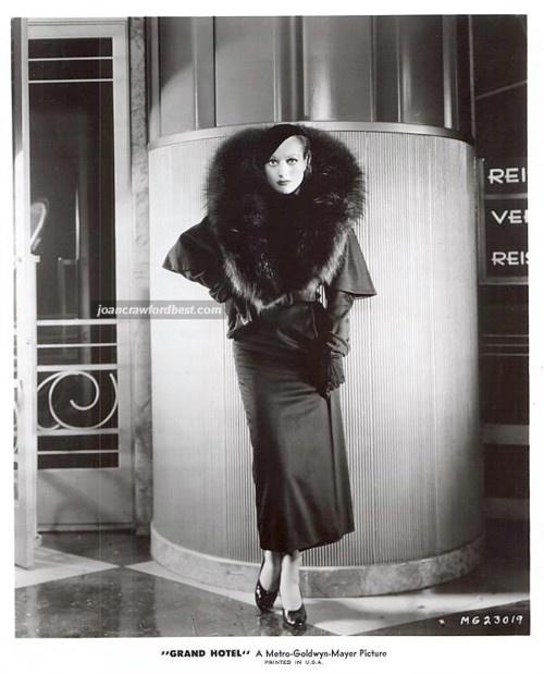 Joan Crawford in Grand Hotel, 1932 Costume by Gilbert Adrian