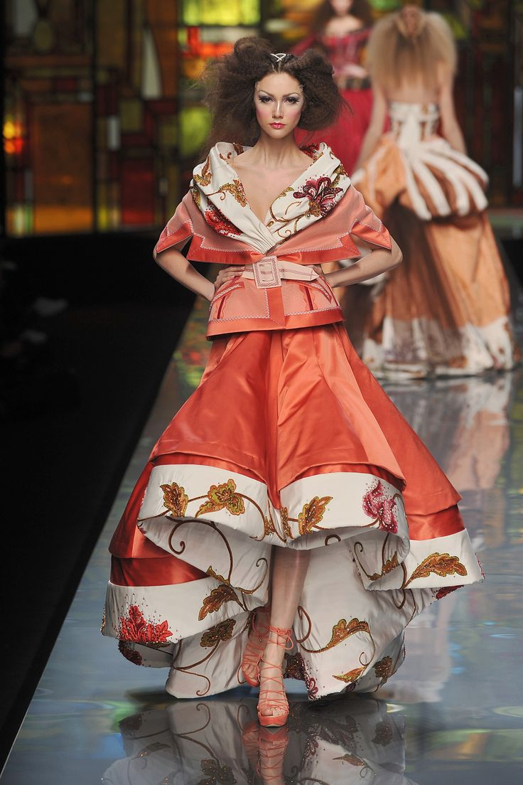 John Galliano Rocks Christian Dior's 2009 Spring