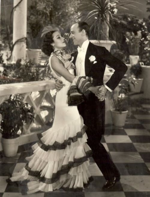 Dolores del Rio and Fred Astaire in Flying down to Rio, 1933