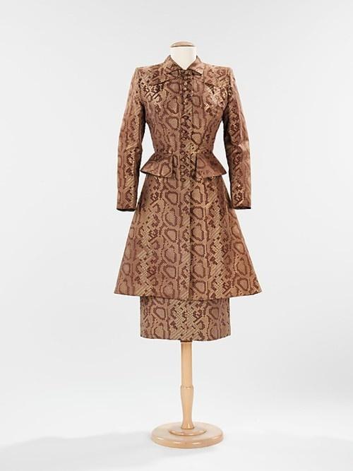 Dinner Suit, Gilbert Adrian, 1942, The Metropolitan Museum of Art