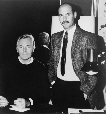 From the Armani archives: Giorgio Armani (left) and Sergio Galeotti (right) founded Giorgio Armani on 24 July 1975