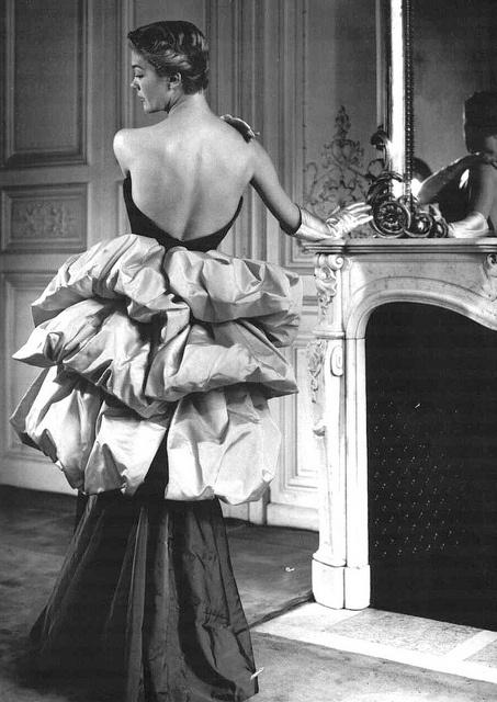 Evening gown by Elsa Schiaparelli, 1949