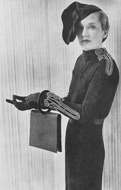 Schiaparelli Robe d'apres-midi 1935