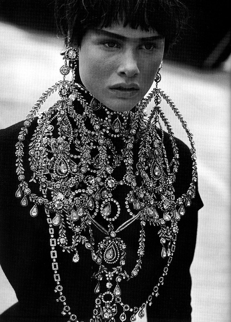 John Galliano for Christian Dior - HC - FW 1997 - Photo by Peter Lindbergh - Vogue Italia