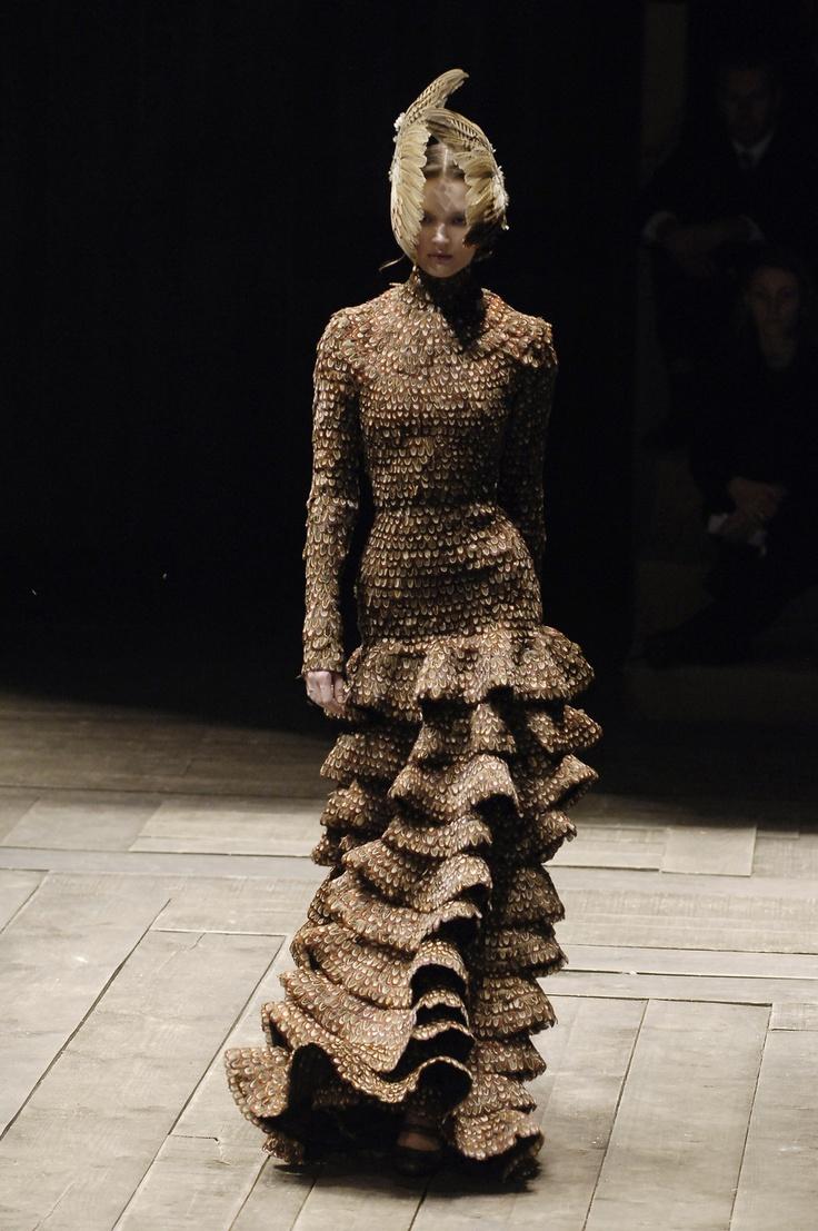 Alexander McQueen at Paris Fashion Week Fall 2006