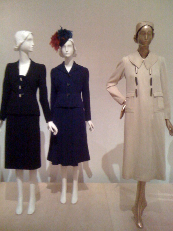 Shiaparelli suits from the 1930s