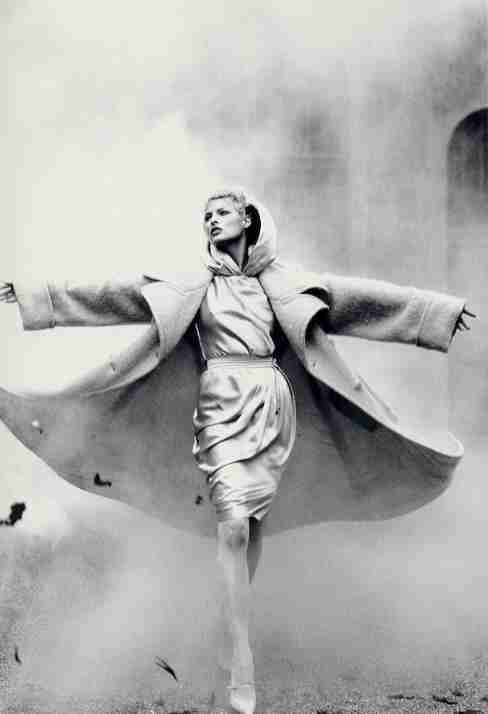 1995-96 - Linda Evangelista by Karl Lagerfeld 4 Chloé adv 07