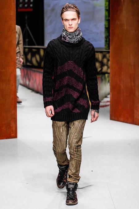 Roberto Cavalli Fall 2014 Menswear