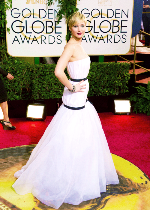 Jennifer Lawerence in Dior
