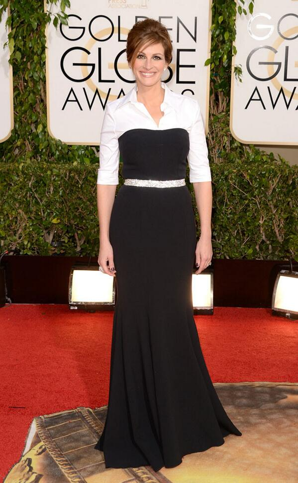 Julia Roberts on the Red Carpet in Dolce & Gabbana a