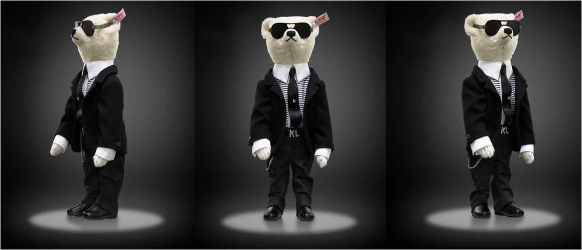 Karl Lagerfeld Teddy Bear3