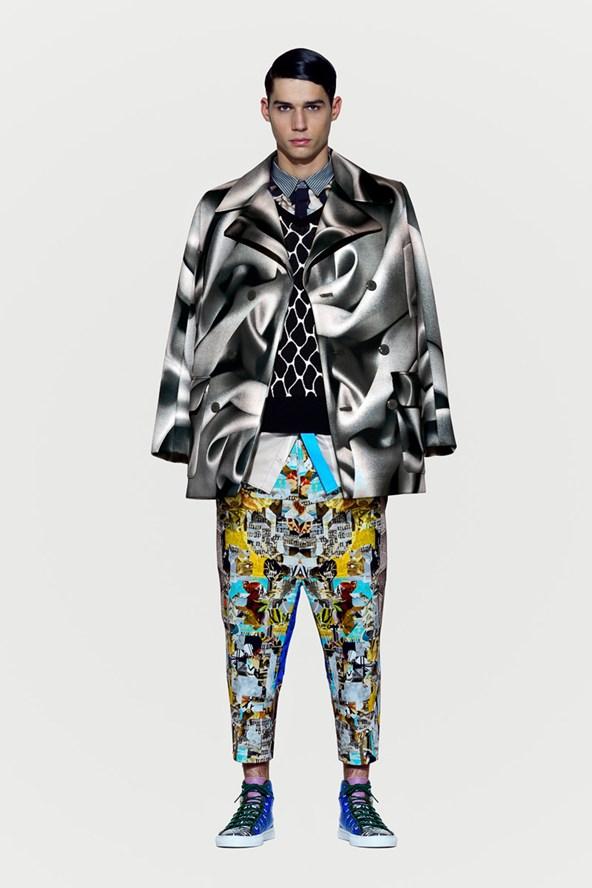 Basso & Brooke 2014 Fall Menswear