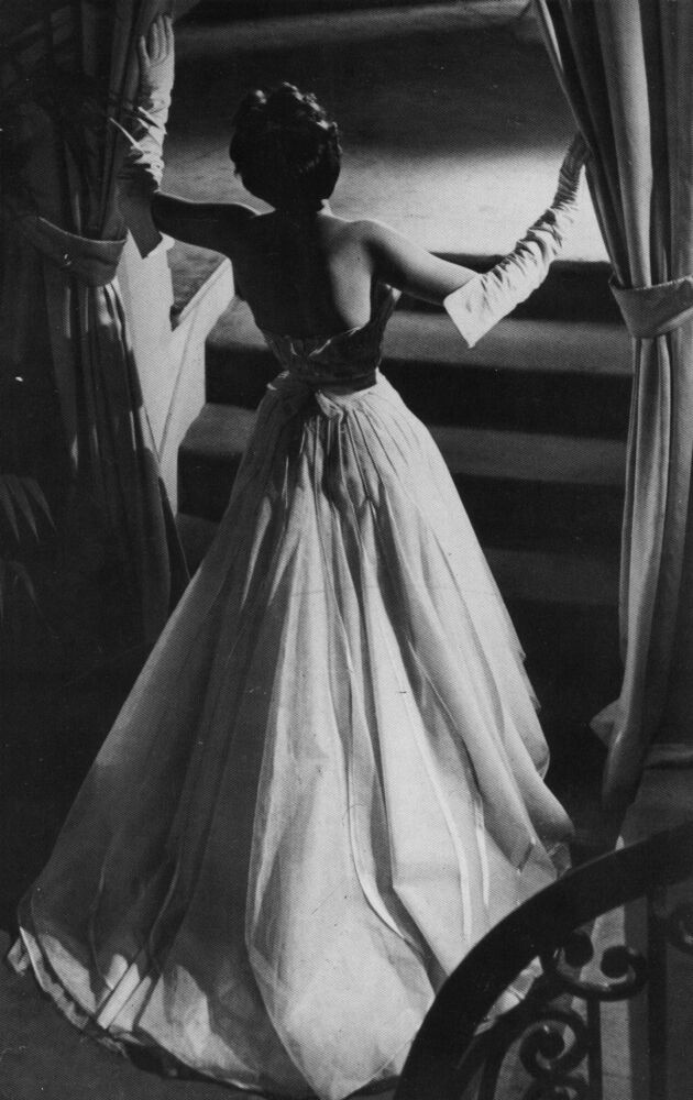 dior ball gown 1948
