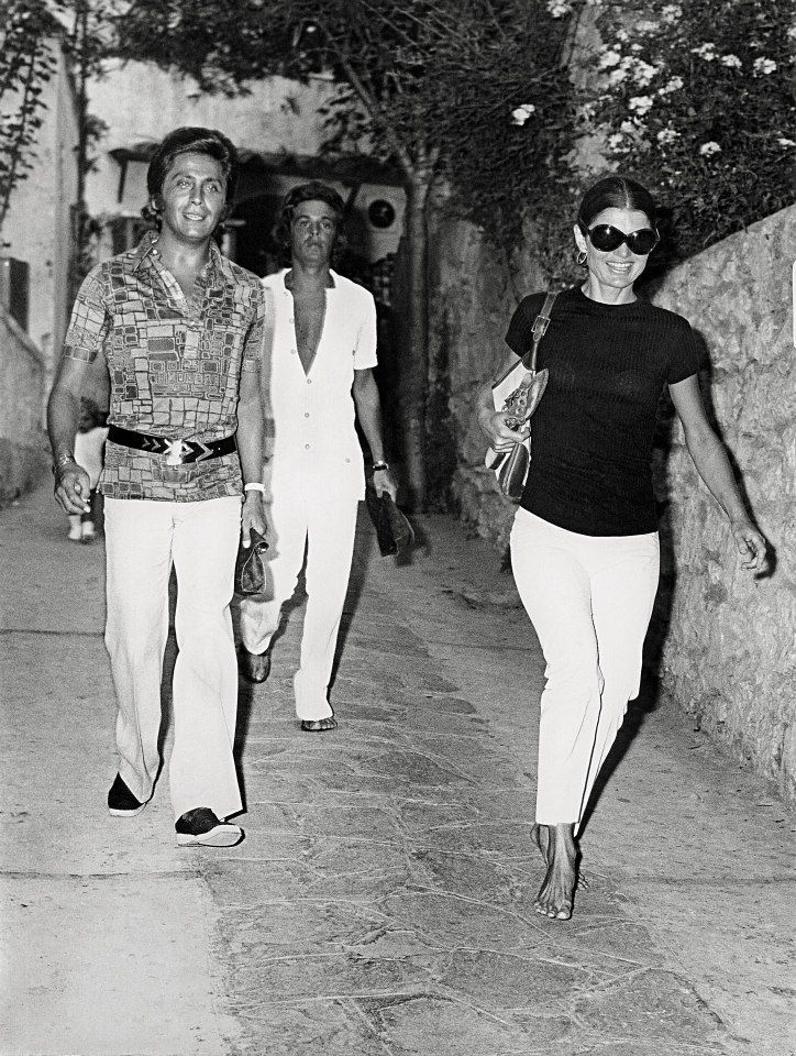 Valentino, Giammetti and Jackie O