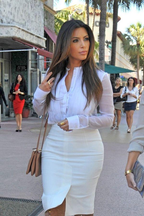 Kim Kardashian Fashion Style Fashionsizzle