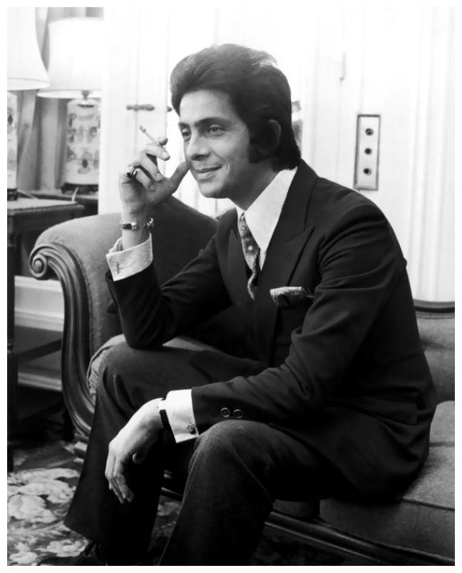 Valentino Garavani in 1968