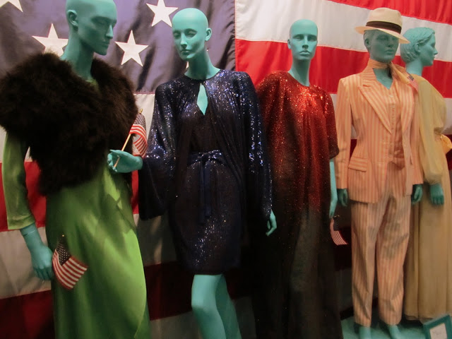 American designers  Halston and Bill Blass