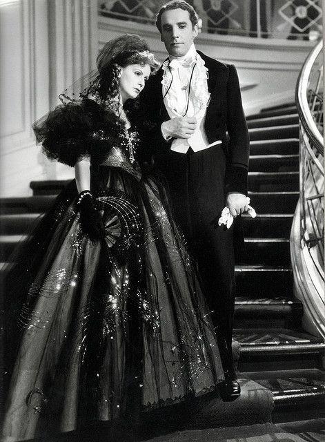 """Greta Garbo in """"Camille"""", 1936 Costume design: Adrian"""