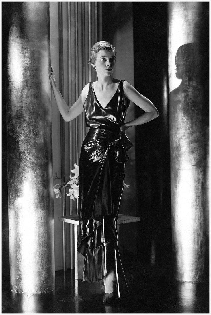 Schiaparelli Pinafore Dress - 1930 - Photo by George Hoyningen-Huene - Condè Nast Archive