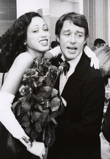 Pat Cleveland and Halston
