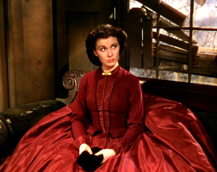 Gone with the Wind. Costume design by Walter Plunkett - Mrs. Kennedy dress.