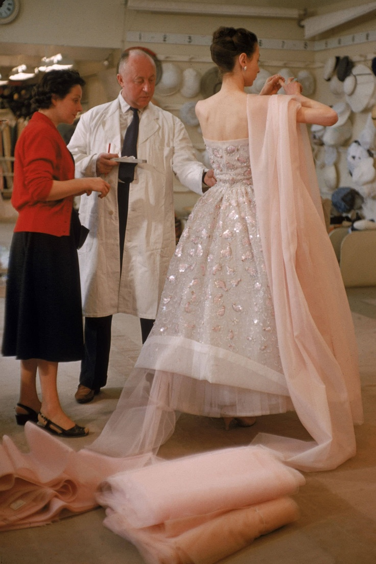 In The Studio Of Christian Dior, 1957.