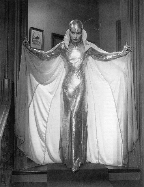 """Katharine Hepburn in Walter Plunkett for """"Christopher Strong"""" (1933)"""