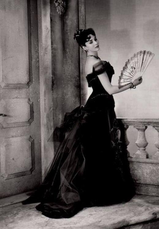 Jennifer Jones in Mme Bovary, costume by Walter Plunkett