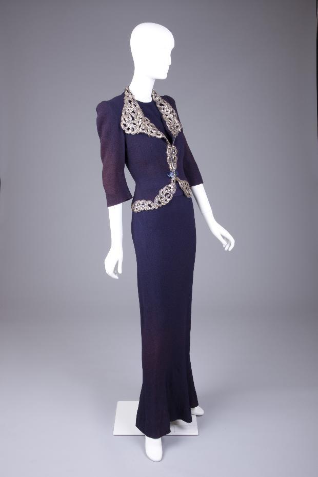 Evening Dress Elsa Schiaparelli, 1940