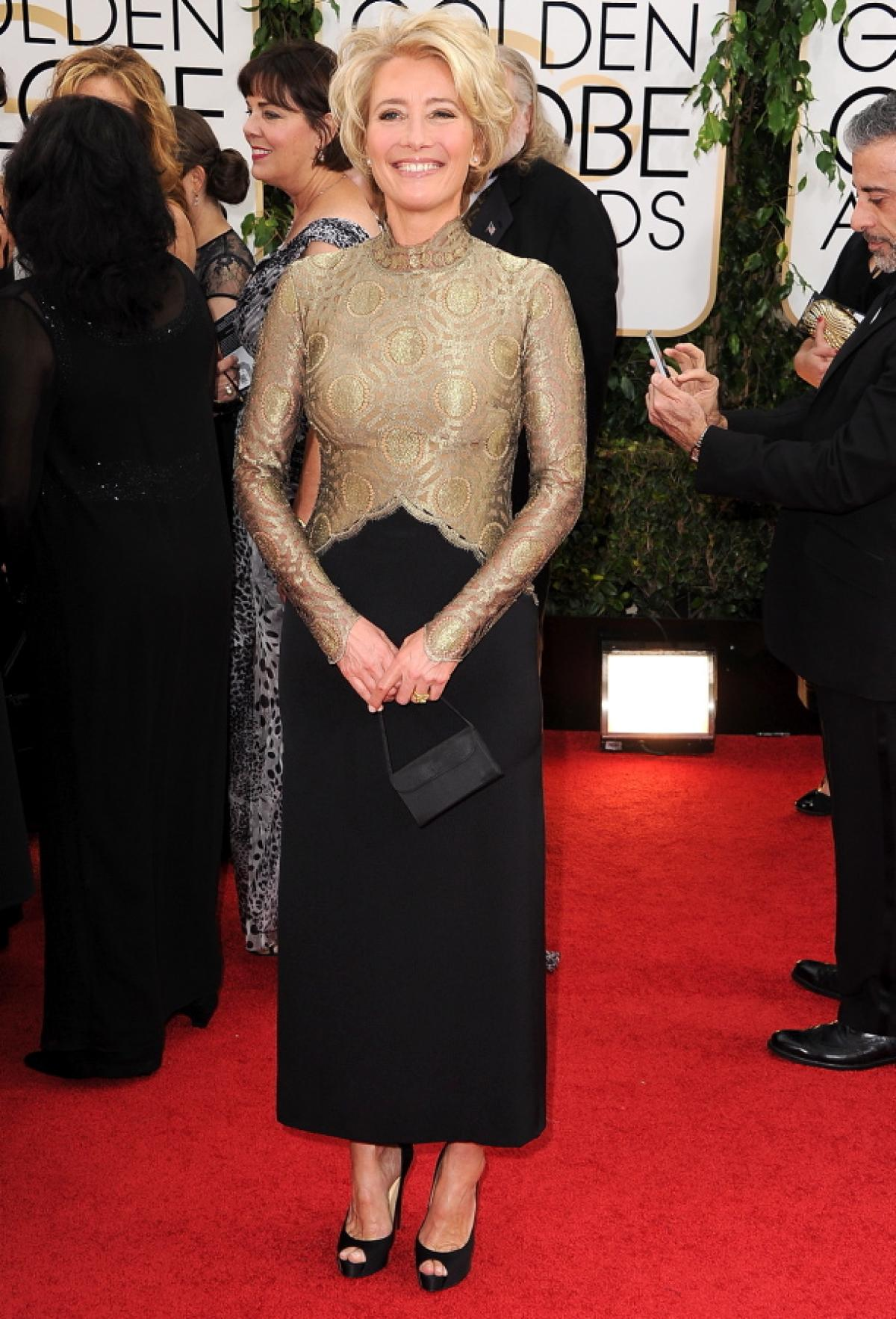 Emma Thompson in Lanvin
