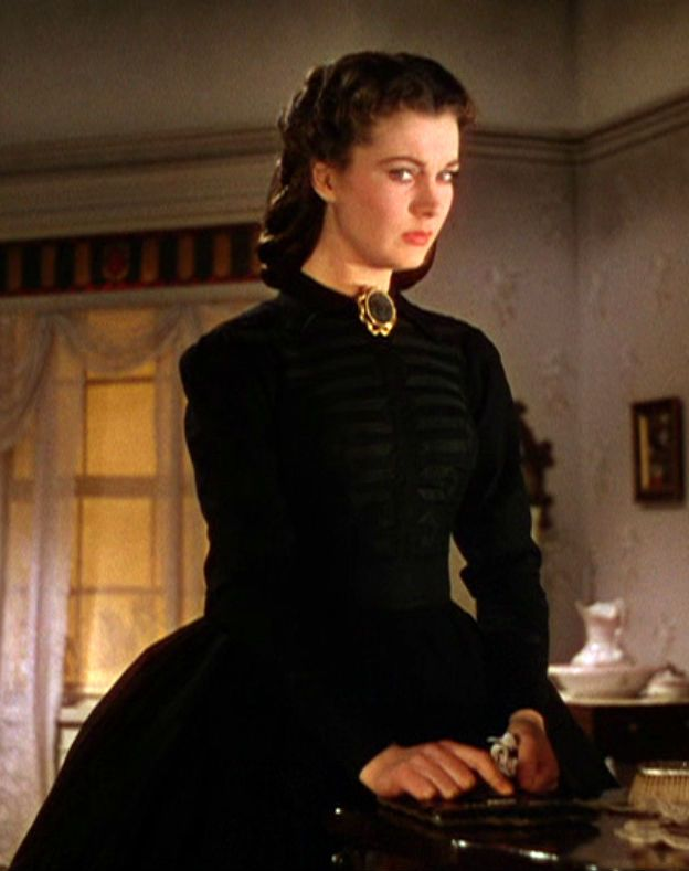 Gone with the Wind. Costume design by Walter Plunkett.