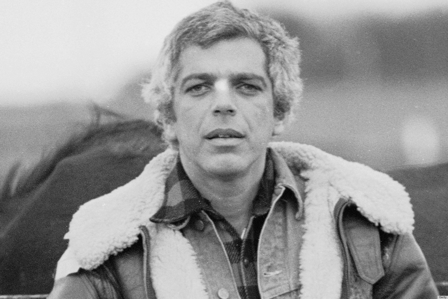 Portrait Of Ralph Lauren With Horses