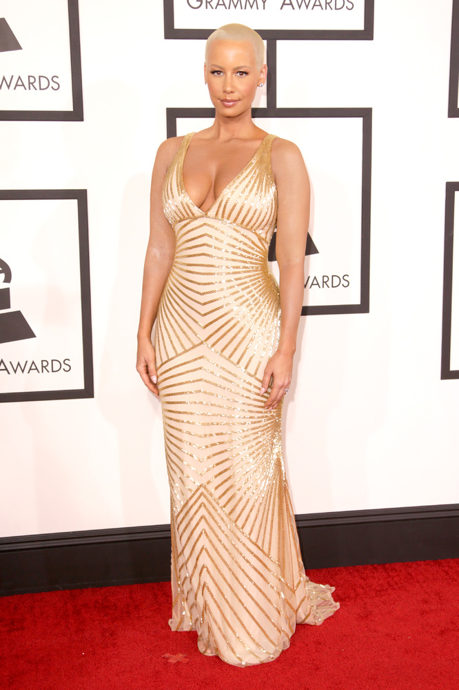 Amber Rose in Naeem Khan