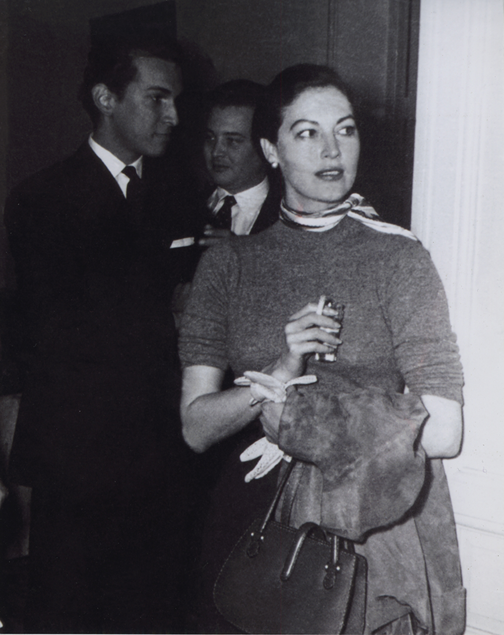 Oscar and Ava Gardner in spain.