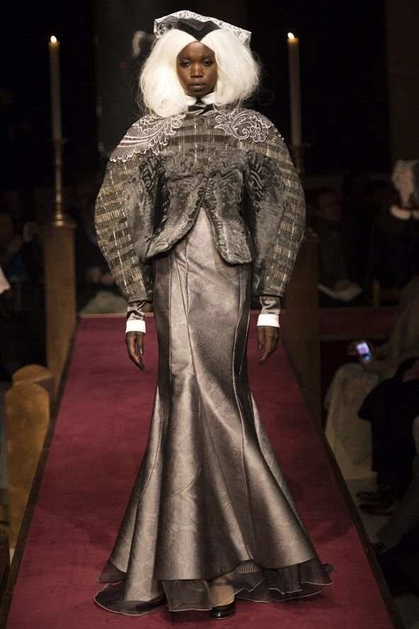 NYC Fashion Week A/W 14 Nykhor Paul for Thom Browne