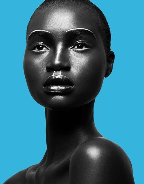 Name : Angelique (Ajak) Deng Ethnicity : Sudanese Agency : IMG Models