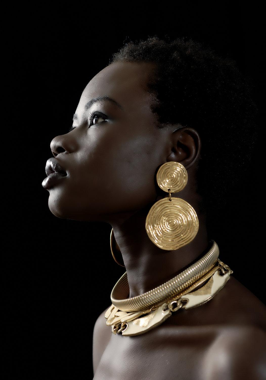 Name : Ajang Majok Ethnicity : Sudanese Agency : BMG Model Management