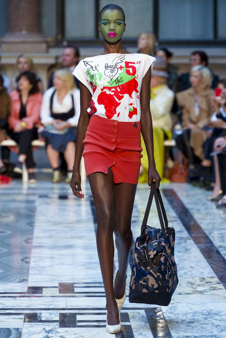 Nykhor Paul at Vivienne Westwood Red Label S/S 2013