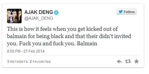 ajak-deng-accuses-balmain-of-racism