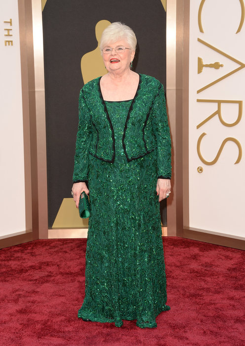 June Squibb arrives at the 86th Academy Awards.