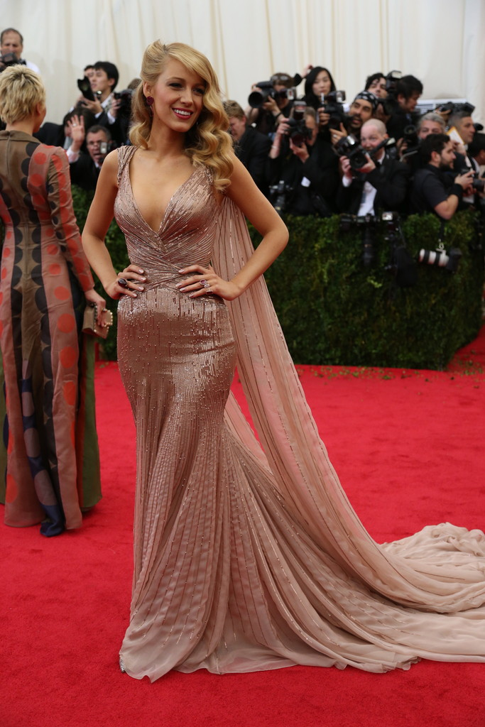 Blake Lively in Gucci.