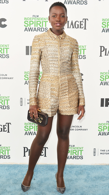 Lupita Nyong'o in Stella McCartney.