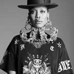 Erykah Badu Models 2014 Givenchy Collection