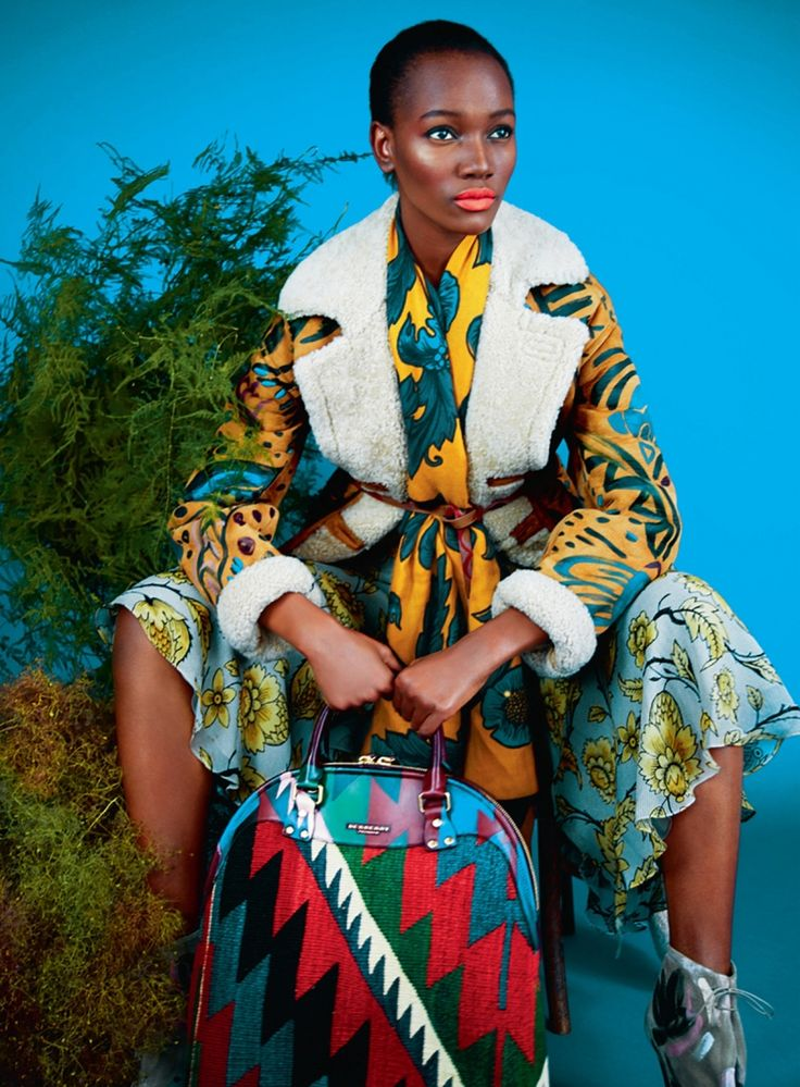 Harpers Bazaar UK Editorial August 2014 - , Herieth ,Greyhorse by Erik Madigan Heck - Burberry