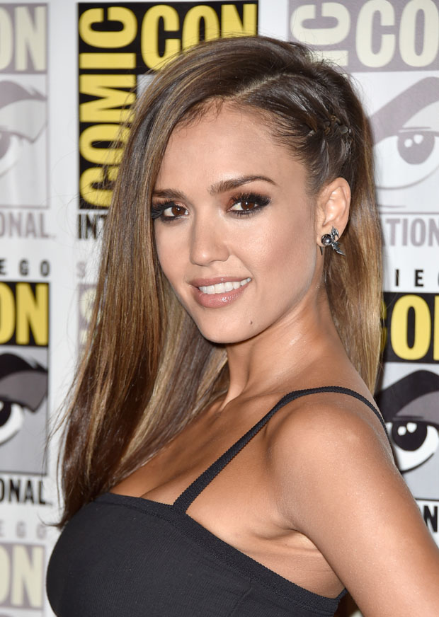 "jessica-alba- at -Comic-Con -2014 - frank-miller-sin-city-dame-kill-panel-comic-con-""Frank -Miller's- Sin City: A Dame To Kill For"" Press Line - Comic-Con -International- 2014"